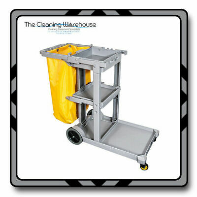 Janitorial Housekeeping Cart / Cleaners Cart Jolley Trolley