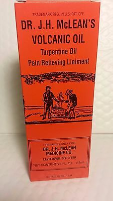 DR  J H  MCLEAN'S Volcanic Turpentine Oil Pain Relieving Liniment 4