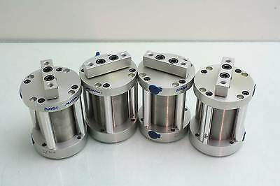 "New 4 Bimba FT-312-M Pancake Line Flat II Stainless Cylinders 2"" Stroke 2"" Bore"