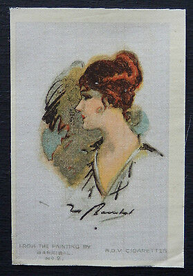 BEAUTIES MODERN PAINTINGS Silk Card issued in 1910 QUILT PATCH BLOCK
