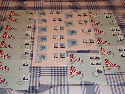 FDC Envelopes Antarctica (Stamps)