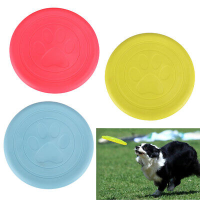 Classic Flyer Dog Toy Frisbee Large Soft Catch Ultra Flexible Super Durable
