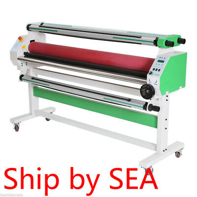 "60"" Economical Full-auto Low Temp Wide Format Cold Laminator with Stand - BY SEA"