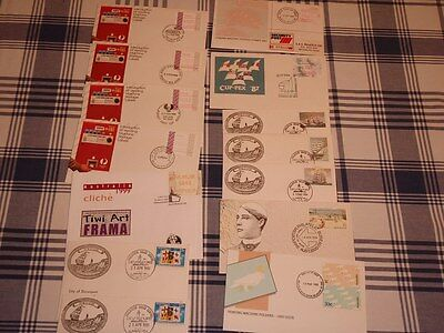 FDC and  VENDING MACHINE envelopes (Stamps)