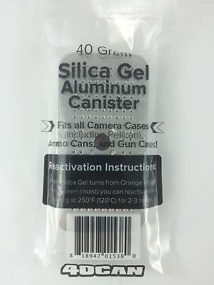 40 Gram Canister of Silica Gel - Compare To Hydrosorbent or Dry-Packs