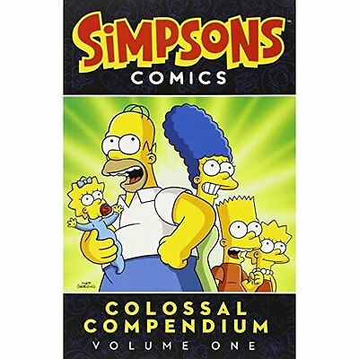 Simpsons Colossal Compendium v. 1 Groening Titan Books Paperback . 9781781169193