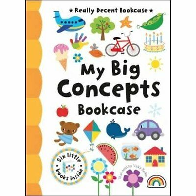 My Big Concepts Bookcase Barker Really Decent Books Board book 9781909090507