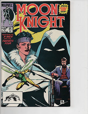 Moon Knight #35 (1/84) VF+ (8.5)! 1st Copper Age App.! Underrated Copper Age!