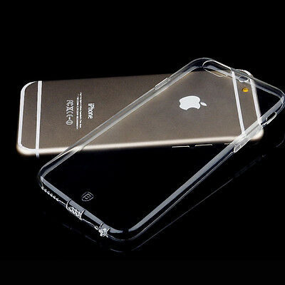 Iphone 6Plus  Clear Transparent Crystal Soft Tpu Silicone Gel  Case Apple 6+