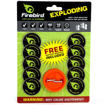Firebird Reactive Extreme Exploding Targets Air Flash 40mm for air rifles