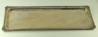 Antique 700 Silver Rectangle Serving Tray