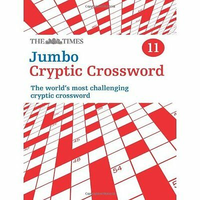 Times Jumbo Cryptic Crossword 11 The Mind Games Collins PB / 9780007453474