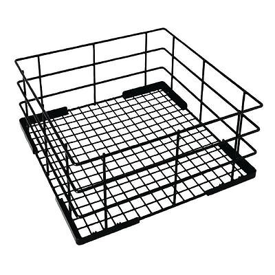 Vogue Wire High Sided Glass Basket 180x350x350mm Dishwasher Cutlery Tray