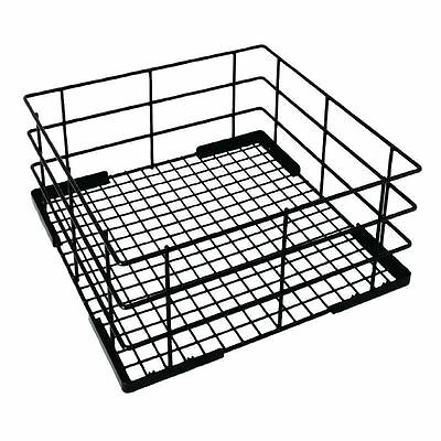 Vogue Wire High Sided Glass Basket 350mm Commercial Dishwashing