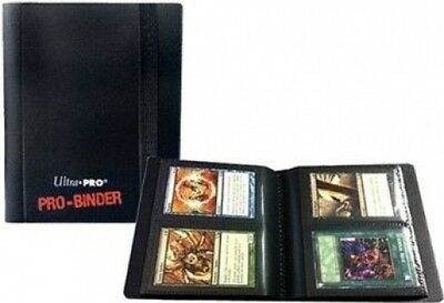 Ultra Pro 2 Pocket Pro Binder Black - 20 Pages & 80 Cards. Delivery is Free