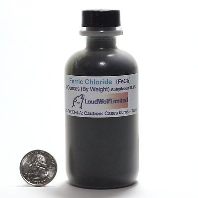 Ferric Chloride , (FeCl3) 0.1kg - Anhydrous dry powder PCB Etchant for printed c