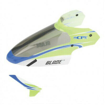 BLH3519 Complete Green Canopy with/Vertical Fin: BLADE mCP X BLADE