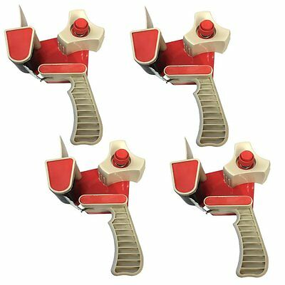 (PACK OF 4) Parcel Tape Dispenser Gun - Packaging Tape Dispensing Guns