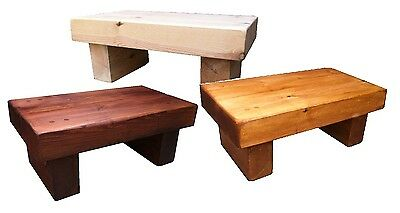 Handmade Solid chunky wood Coffee Table, Lamp, Rustic, Crafted, Shabby chic