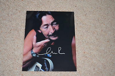 CHRIS REA  signed Autogramm In Person 20x25 cm