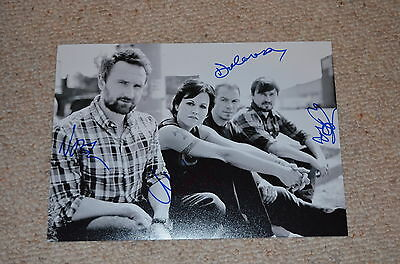 THE CRANBERRIES  signed Autogramm In Person 20x28 cm rar!!