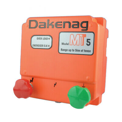 5km MAINS Powered Electric Fence Energiser Energizer Daken 3 Year Warranty Farm