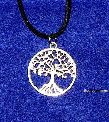 Silver Tree Of Life Necklace, Pagan, Wicca, Celtic, Witchcraft