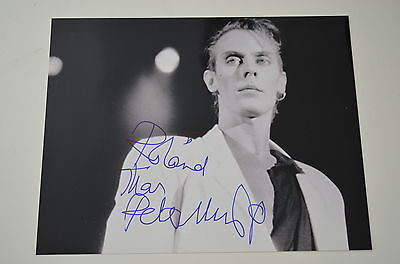 PETER MURPHY signed autograph In Person 8x10 (20x25 cm ) BAUHAUS