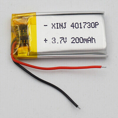 3.7V 250 mAh Polymer Li ion Lithium Cell For Mp3 GPS Headset bluetooth 401730