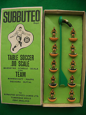 Rare Boxed Subbuteo HW Heavyweight Team Ref 169 Luton Town Excellent Condition