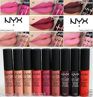 Nyx Soft Matte Lip Cream - **uk Seller**-  All Shades!!  - 100% Authentic! !