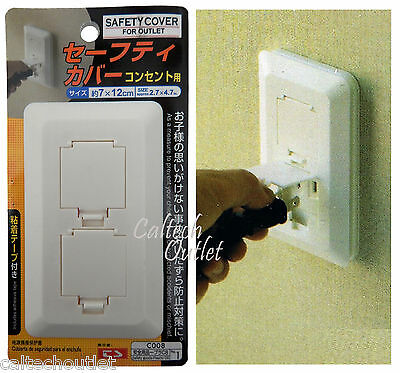 Safety Outlet Plug Protector Cover Child Baby Proof Electric Shock Guard