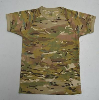 MULTICAM CAMOUFLAGE PATTERN SHORT SLEEVE KIDS T-SHIRT - Size 8 to 14