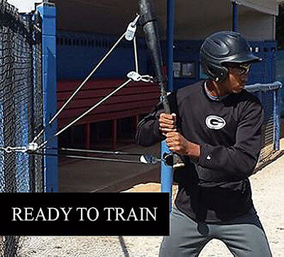 Xzack Swing Trainer- Baseball/softball Batting Swing Hitting Training Aid