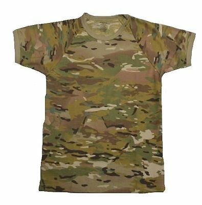Camo T-Shirt - Kids Sizes Crew Neck Multicam