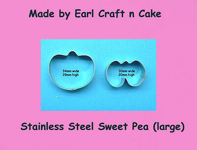 Sweet Pea Cutters - Large.   Cake Decorating Sugar Flower Gum Paste Tools