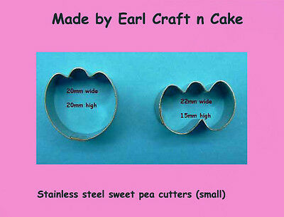 Sweet Pea Cutters small  - Cake Decorating Sugar Flower Gum Paste Tools