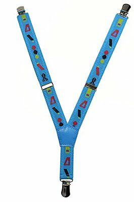 NEW Baby / Childrens 0-2 Yrs Elasticated Clip on Braces / Suspenders with Shapes