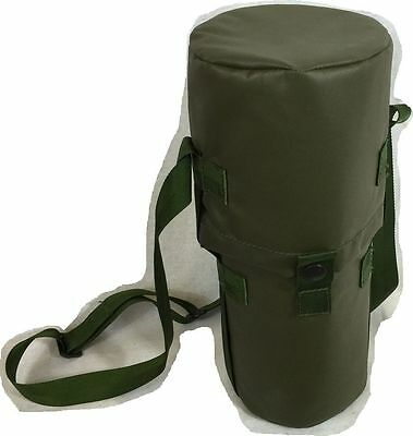 British Army surplus vacuum flask cover in olive green thermos