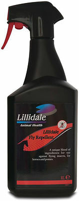 Lillidale Horse Summer Fly Repellent Spray - 1litre/500ml