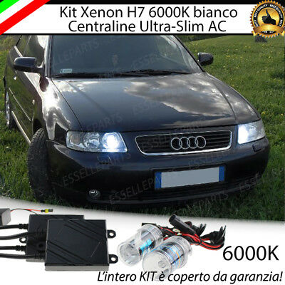 Kit Xenon Xeno 6000 K Ac 35W Specifico Per Audi A3 8L No Error Con Garanzia