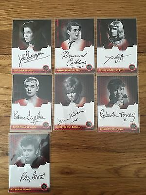 Dr Who & The Daleks 2150 AD Autograph Cards