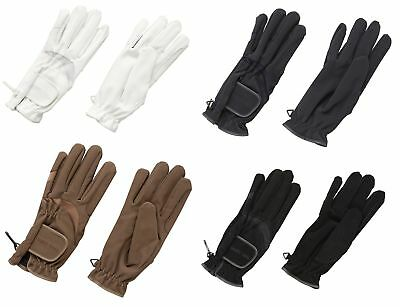 Harry Hall Domy Suede Horse Riding Gloves ALL COLOURS & SIZES