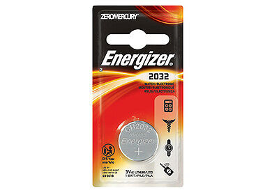 Genuine Energizer CR2032 3Volt Lithium Batteries Battery SINGLE Pack BNIP