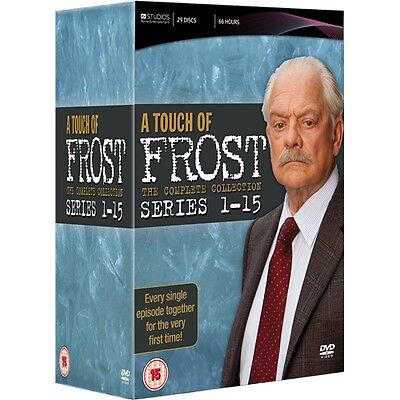 "A Touch Of Frost Complete Series Collection 1-15 Box Set 29 Discs ""new&sealed"""
