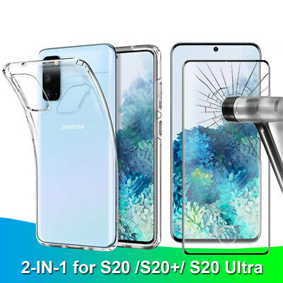 For Samsung Galaxy S8/Plus S6/S7/Edge Full Cover Tempered Glass Screen Protector