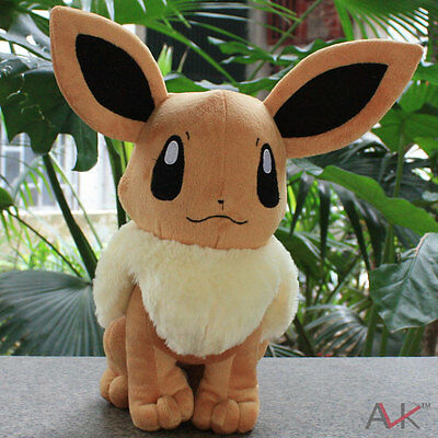 Large size Pokemon Eevee Plush Toy Soft Stuffed Animals Dolls Gifts for Children