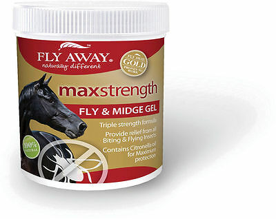 Fly Away Max Strength Fly & Midge Gel - Fly Repellent