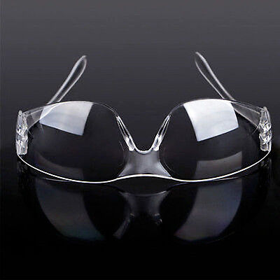 Safety Eye Protection Goggles Glasses Vented Protective Lab Anti Fog Dust Clear