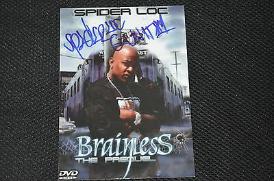 SPIDER LOC signed autograph In Person 5x7 (13x18 cm)